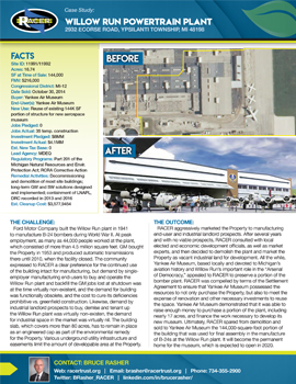 Willow Run Powertrain Plant & Engineering Center Case Study #2