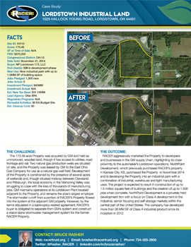 Lordstown Industrial Land Case Study
