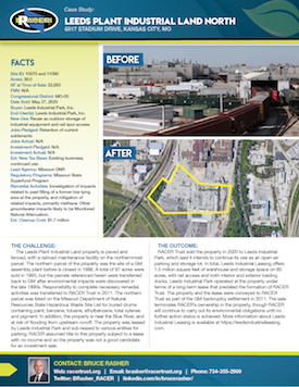 Leeds Plant Industrial	Land North Case Study