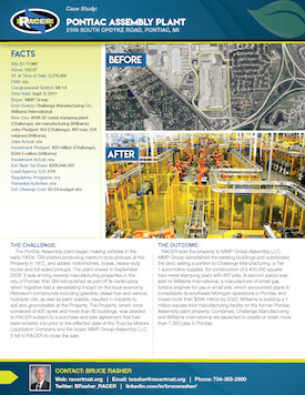 Pontiac Assembly Plant Case Study