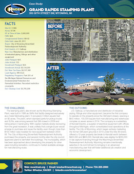 Grand Rapids Stamping Plant Case Study