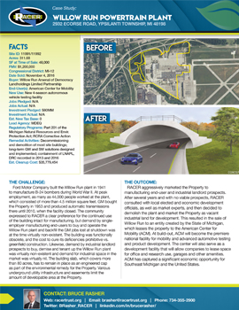 Willow Run Powertrain Plant & Engineering Center Case Study #1