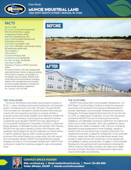 Muncie Industrial Land Case Study
