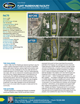 Flint Warehouse Facility Case Study