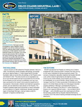 Delco Chassis Industrial	Land I & II Case Study